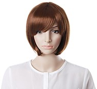 Capless Fashion Short Curly Side Hair Wig