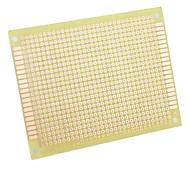 DIY Glass Fiber Prototyping PCB Universal Breadboard-Yellow (5-Piece Pack)