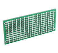 Universal 3 x 7cm DIY Double-Sided Glass Fiber Breadboard-Green (5-Piece Pack)