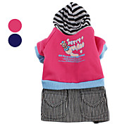 Flying Pig Hoodie Coat with Denim Skirt for Dogs (XS-XL, Assorted Colors)