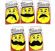 Costume Party Mustache Toy (Black, Random Styles)