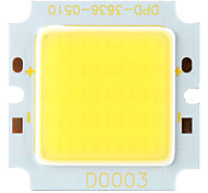DIY 17x23MIL 10W 950-1050LM 6000K White Light Square COB LED Emitter (15-17V)