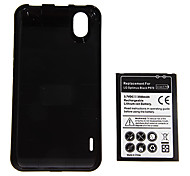 3.7V 1500mAh Rechargeable Lithium-ion Battery with Back Cover for LG Optimus Black P970