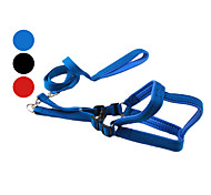 Classic Nylon Dog Harness with 120CM Leash (Assorted sizes, Assorted Colors)