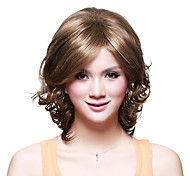 Capless Short High Quality Synthetic Wavy Wig