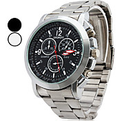 Men's Watch Casual Wrist Watch Alloy Band Cool Watch Unique Watch