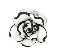 Silber Blüten öffnen ring