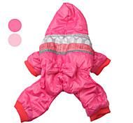 бантом сердца стиле хлопка пальто с капюшоном для собаки (SL, разные цвета)