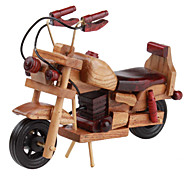 Wooden Motorbike Desk Decoration