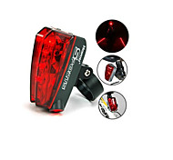Rear Bike Light Bicycle Laser Beam Rear Tail Light