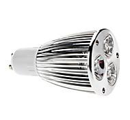 GU10 6 W 3 COB 600 LM Natural White MR16 Dimmable Spot Lights AC 220-240 V