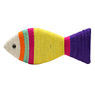 Cats Toys Chew Toy Fish Sisal Yellow