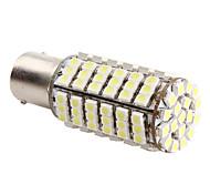 1156 SMD 4.2W 126x3528 6500-7000K Blub Lumière LED blanche pour Lampes de voiture (12V DC)