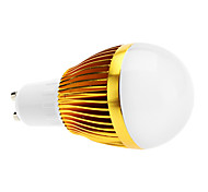 GU10 6 W 3 High Power LED 600 LM Warm White A Dimmable Globe Bulbs AC 220-240 V