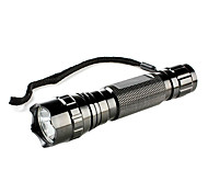 1 portable en mode Cree XR-E Q5 LED lampe de poche avec agression couronne (1x18650)