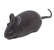Squeaking Mouse Style Cat Scratch Toys (Black,Gray,Yellow,Blue,Brown,Red,Pink)