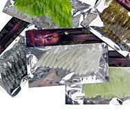 20 pcs Weiche Fischköder / Gummifische Verschiedene Farben g Unze mm Zoll,Silikon Seefischerei / Fischen im Süßwasser / Barschangeln