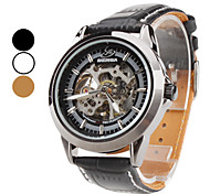 Men's PU Analog Automatic Mechanical Wrist Watch (Assorted Colors)