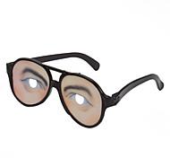 Men Eye Print Lens Joke Funny Glasses for Halloween Costume Party