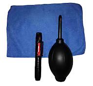 3-In-1 Kit di Pulizia per Videocamera Fotocamera Digitale