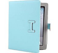 Litchi Grain PU Leather Case with Stand for iPad 2/3/4 (Assorted Colors)