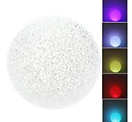 Lámpara de Noche LED de Cristal de Forma Redonda (3xLR44)