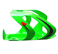 Ciclismo 3K Weave di carbonio Cage Bottiglia di fibra (verde)