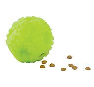bola verde noctilucentes para cães (7x7x7cm)