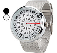 Men's Watch Dress Watch Creative Turntable Design Wrist Watch Cool Watch Unique Watch Fashion Watch