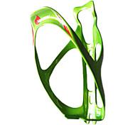 Ciclismo 3K Carbono Weave Fibra Bottle Cage (Pérola Verde)