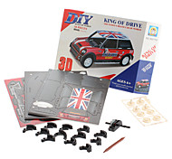 50 Pieces DIY 3D Puzzle King of Drive (difficulty 4 of 5)