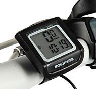 roswheel LCD à prova d'água 11 funções bicicleta velocímetro da bicicleta computador