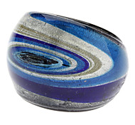 Whirlpools Pattern Glaze Ring