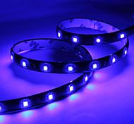 Faixa de Luzes LED Azul 60CM 30x1210 SMD para Automotivo (DC 12V)