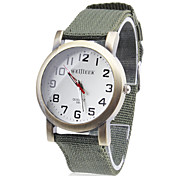 Men's Fabric Analog Quartz Wrist Watch (Assorted Colors) Cool Watch Unique Watch Fashion Watch