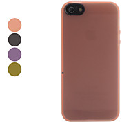 Matting Flexible High Quality Soft Case for iPhone 5/5S (Assorted Color)