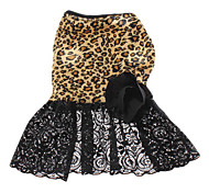 Tulle Leopard Printing Style Dress for Dogs (XS-XL)