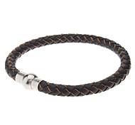 Leather Weave Series Bracelet