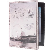 Ferris Wheel Pattern PU Leather Case for iPad 2/3/4