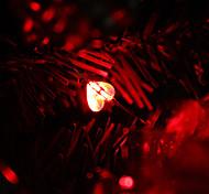 2M 20-LED Red Light Sweet Heart Shaped LED String Fairy Lamp (3xAA)