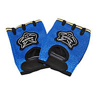 Polyester+Nylon Windproof Cycling Half Finger Gloves
