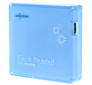 All-in-1 Hi-speed USB 2.0 Card Reader for MS/M2/SD/MMC/XD/TF/Mini SD Card