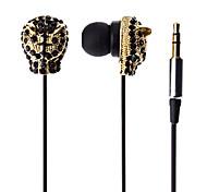 Tiger tereo en la oreja los auriculares para el iPod/iPhone/iPad/MP3/MP4