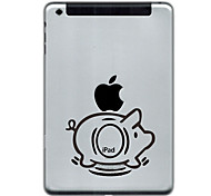 Pig Design Protector Sticker for iPad Mini