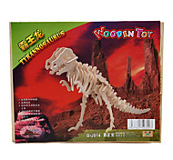 Wooden 3D Puzzle Tyrannosaurus Toy for Kids (G-J014)