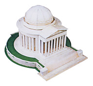 35 Pieces DIY Architecture 3D Puzzle U.S.A Thomas Jefferson Memorial (difficulty 4 of 5)