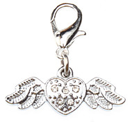 Dog tags Flying Heart Style Collar Charm for Dogs Cats