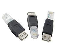 USB femelle vers RJ45 Adaptateur Mâle