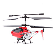 3,5-kanaals Gyro 3D Mini Remote Control Helicopter (Rood)