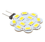 G4 3W 12 SMD 5630 270 LM Warm wit 2-pins LED-lampen DC 12 V